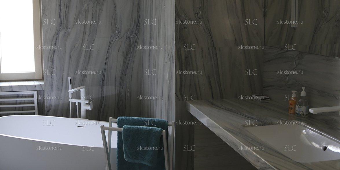 Мраморная ванная комната 2