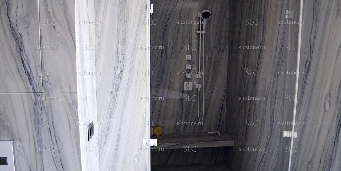 Мраморная ванная комната 3